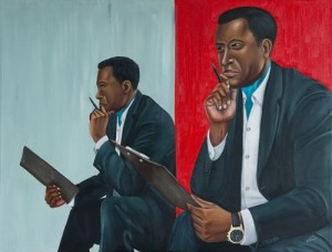 Man in the Mirror 70 x 92cm Zemba Luzamba copy (Copy)