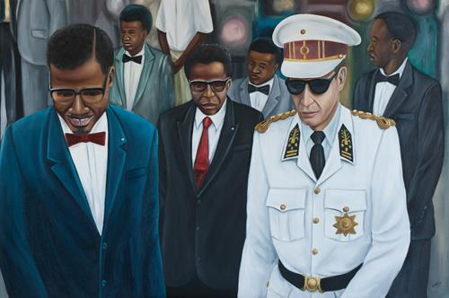 Independence Day 100 x 150cm Oil on Canvas ZL (Copy)