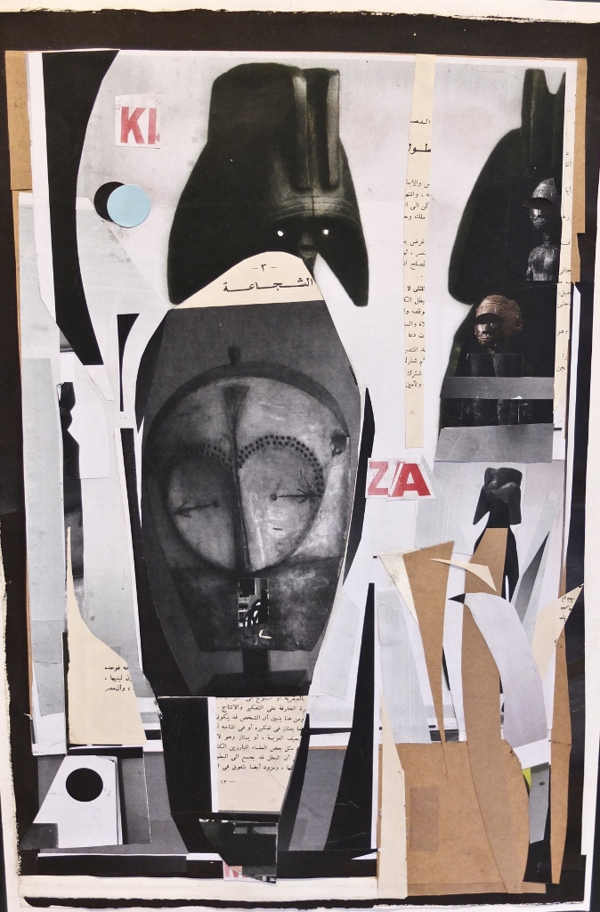 The Intercessors 02, Paper Collage on Cardboard, 41 x 64cm (674x1024)