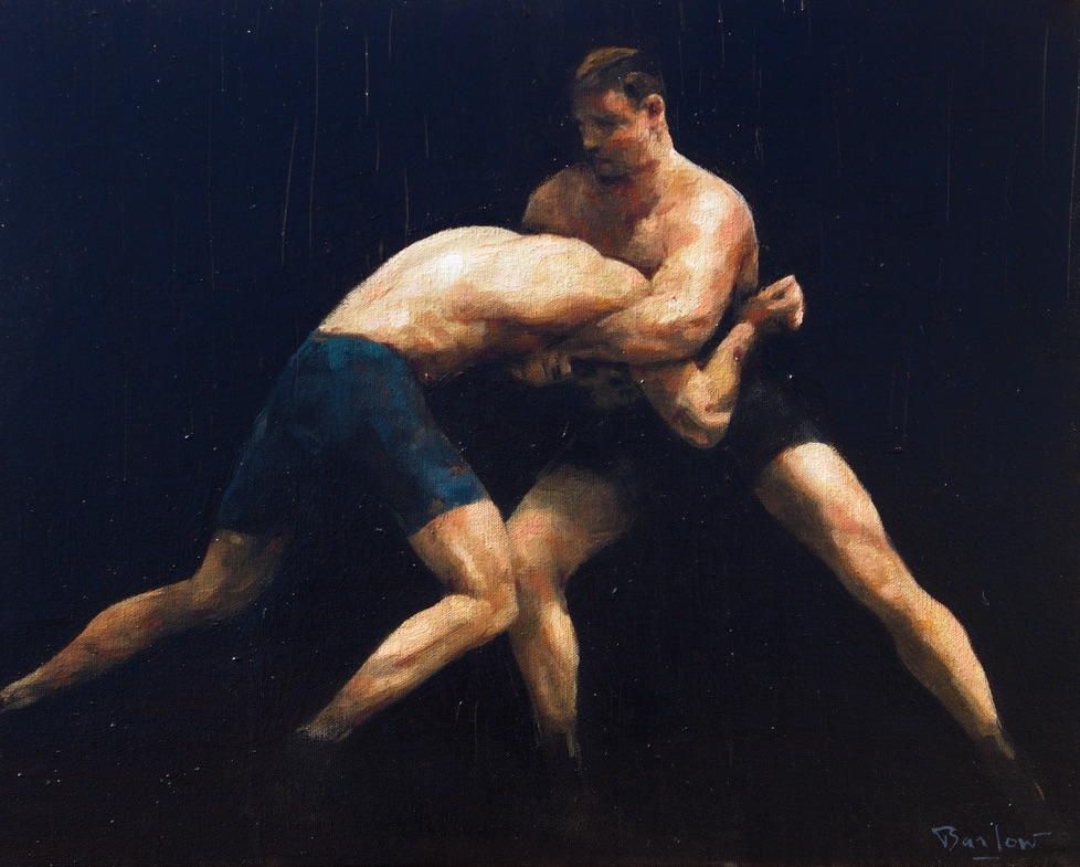 The Contest, oil on canvas 41 x 51 cm (1) copy
